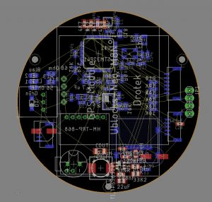 Primary PCB layout